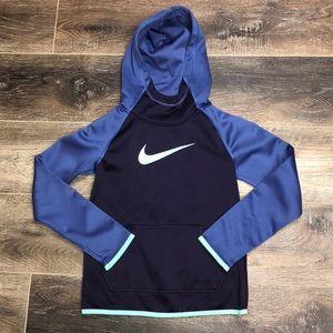 Nike Dri Fot Hooded Sweatshirt Size Small